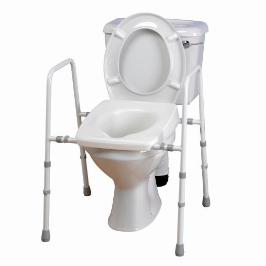 Toilet seat raiser frame hire algarve. Bathroom Mobility Aids for hire Algarve
